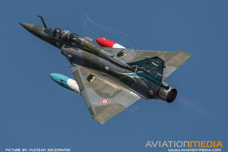 French Air Force Couteau Delta / Dassault Mirage 2000D / 624 3-IT / 75th Anniversary Livery