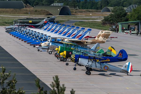 Meeting de l'Air Nancy 2018 Flightline