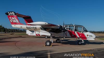 CAL Fire / North American OV-10A Bronco / N421DF