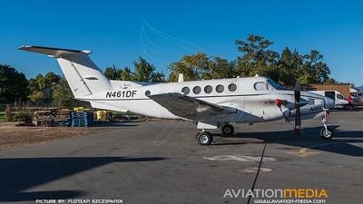 CAL Fire / Beech A200CT Super King Air / N461DF