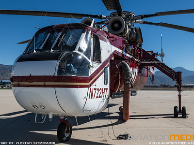Helicopter Transport Services / Sikorsky CH-54B Skycrane / N722HT