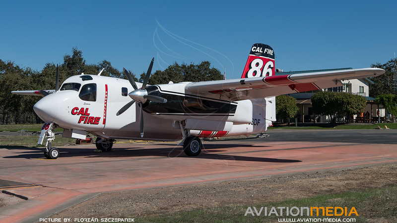 CAL Fire / Marsh Aviation S-2F3AT Turbo Tracker / N433DF