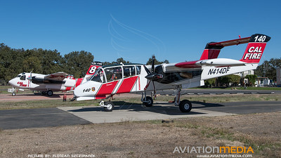 CAL Fire / North American OV-10A Bronco / N414DF