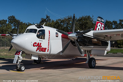CAL Fire / Marsh Aviation S-2F3AT Turbo Tracker / N438DF