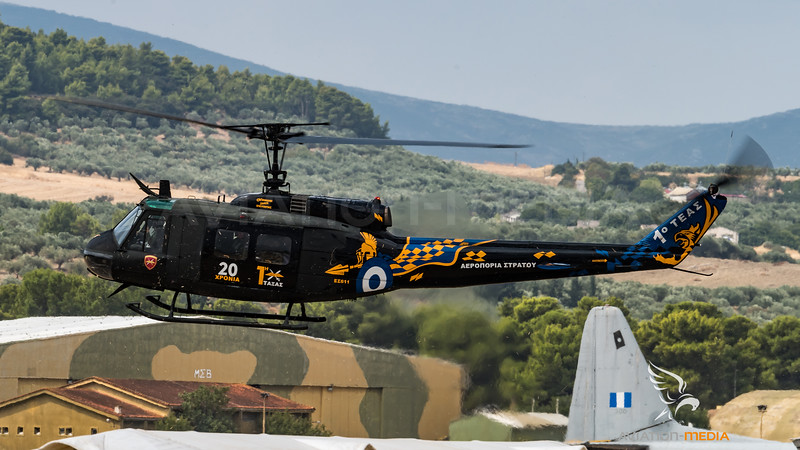 Hellenic Army Aviation / Bell UH-1H Huey / ES611 / 20th Anniversary 1st HAAB Livery