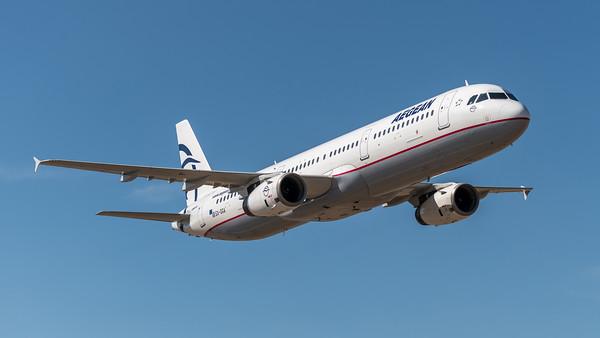 Aegean / Airbus A321-231 / SX-DGA