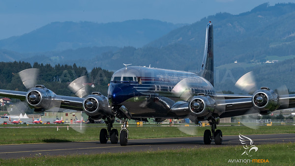 Flying Bulls / Douglas DC-6B / OE-LDM / Flying Bulls Livery