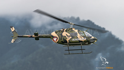 Austrian Air Force / Bell OH-58B Kiowa / 3C-OH