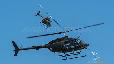 Austrian Air Force / Bell OH-58B Kiowa / 3C-OA & 3C-OC