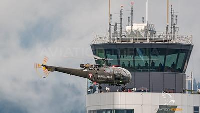 Austrian Air Force / Aerospatiale SA-316B Alouette III / 3E-KK
