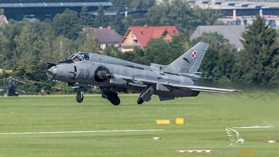 Polish Air Force 40th Squadron / Sukhoi Su-22M4 / 3819