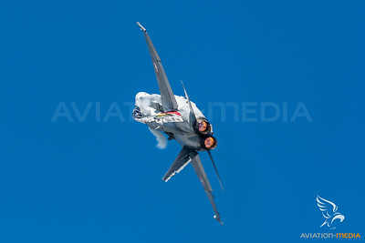 Swiss Air Force 11th Squadron / McDonnell Douglas F/A-18C Hornet / J-5017 / Falcon Livery