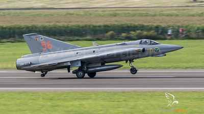 Swedish Air Force Historic Flight / Saab Sk35J Draken / SE-DXR 56