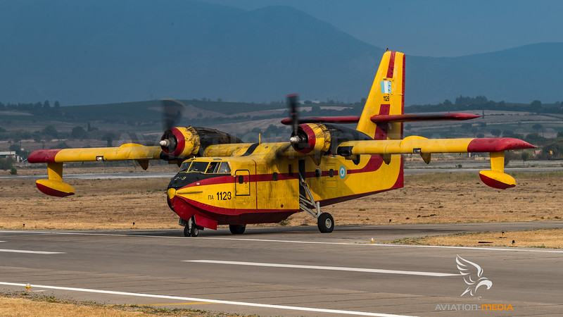 Hellenic Air Force / Canadair CL-215 / 1123