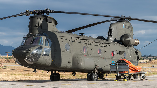 Hellenic Army Aviation / Boeing CH-47D Chinook / ES925