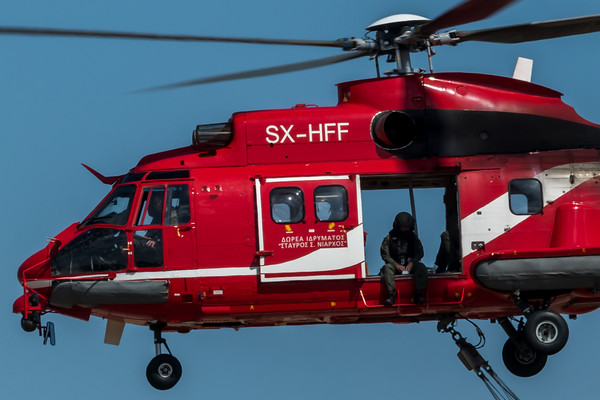Hellenic Fire Service / Airbus Helicopter AS332L1 / SX-HFF