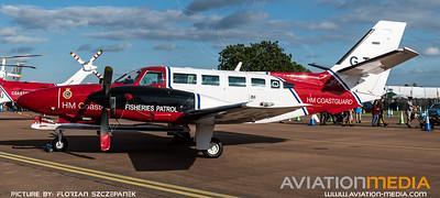 HM Coastguard / Reims-Cessna F406 Caravan II / G-TURF