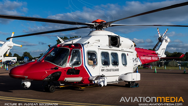 HM Coastguard / Agusta Westland AW189 / G-MCGU