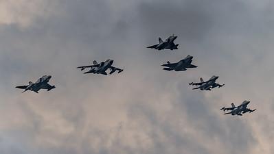 HAF & ItAF & USAF / Iniochos 2019 Formation
