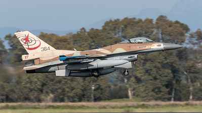 Israeli Air Force 117 Squadron / Lockheed Martin F-16C-30 Barak / 364