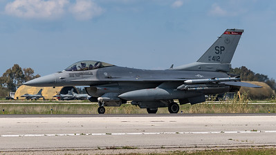 USAF 480 FS / Lockheed Martin F-16C-50 Fighting Falcon / 91-0412 SP