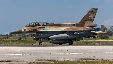 Israeli Air Force 109 Squadron / Lockheed Martin F-16D Barak / 055