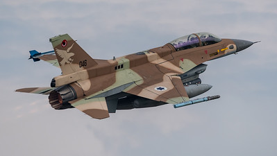 Israeli Air Force 109 Squadron / Lockheed Martin F-16D Barak / 046