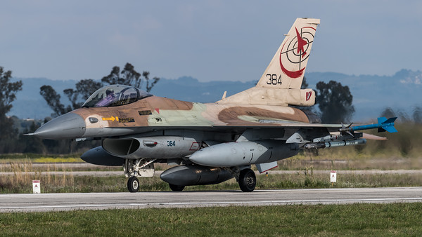 Israeli Air Force 117 Squadron / Lockheed Martin F-16C-30 Barak / 384