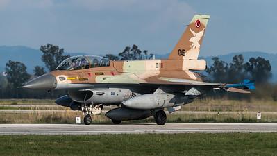 Israeli Air Force 109 Squadron / Lockheed Martin F-16D Barak / 046