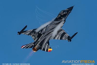 BAF 350 Squadron / Lockheed F-16A-20 MLU Fighting Falcon / FA-101 / Vador Livery