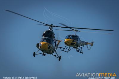 Czech Air Force / Mil Mi-2 Hoplite & Enstrom 480B-G / 0711 & 0459