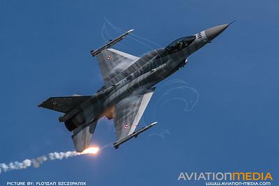 Polish Air Force / Lockheed Martin F-16C-52 Fighting Falcon / 4052