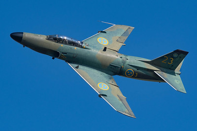 Swedish Air Force Historic Flight / Saab J-32B Lansen / SE-RMD 23