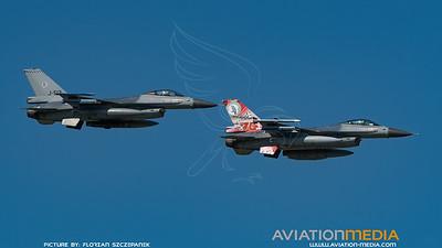 RNLAF 322 Squadron / Lockheed F-16A-20 MLU / 879 & J-513 / 75th Anniversary Livery