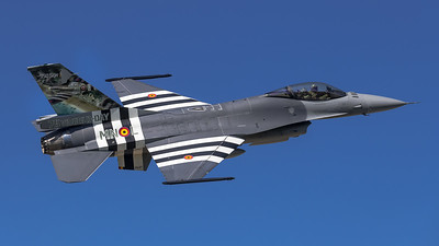 BAF 350 Squadron / Lockheed F-16A-20 MLU Fighting Falcon / FA-57 / 75 Years D-Day Livery