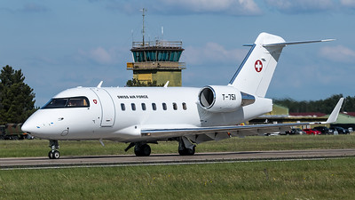Swiss Air Force / Bombardier Challenger 604 / T-751