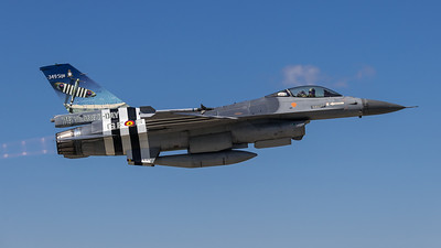 BAF 349 Squadron / Lockheed F-16A-20 MLU Fighting Falcon / FA-124 / 75 Years D-Day Livery