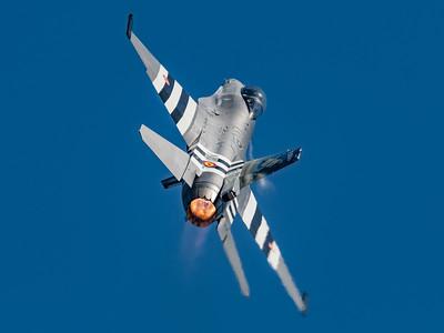BAF 350 Squadron / Lockheed F-16A-20 MLU Fighting Falcon / FA-57 / 75 Years D-Day Livery