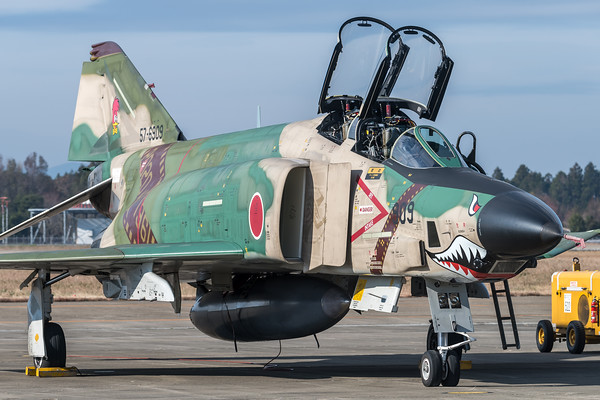 JASDF 501 Hikotai / McDonnell Douglas RF-4E Phantom II / 57-6909