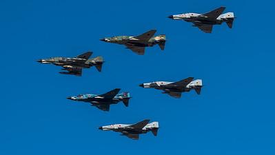 JASDF 501 Hikotai / McDonnell Douglas RF-4EJ Phantom II, RF-4E Phantom II, F-4J Phantom II / 77-6397, 47-6901 & 57-6907, 17-8440 & 57-8356 & 07-8434