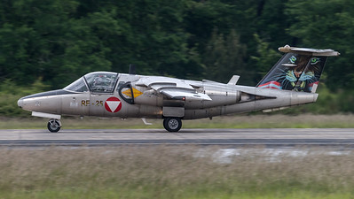 Austrian Air Force 3rd Squadron / Saab 105OE / RE-25 / Tigermeet Livery