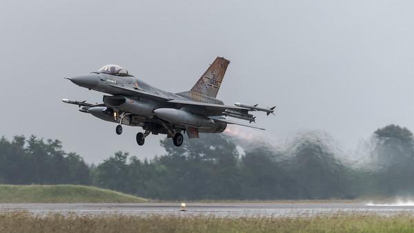 BAF 31 Squadron / Lockheed F-16A-20 MLU Fighting Falcon / FA-116 / Tigermeet 2019 Livery