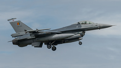 BAF 31 Squadron / Lockheed F-16A-20 MLU Fighting Falcon / FA-104