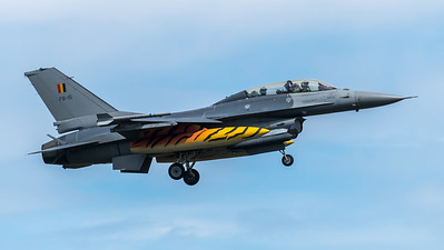 BAF 31 Squadron / Lockheed F-16B-20 MLU Fighting Falcon / FB-15