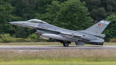 BAF 31 Squadron / Lockheed F-16A-20 MLU Fighting Falcon / FA-104
