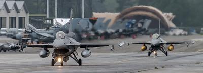 BAF 31 Squadron / Lockheed F-16A-20 MLU & F-16B-20 MLU Fighting Falcon / FA-104 & FB-15