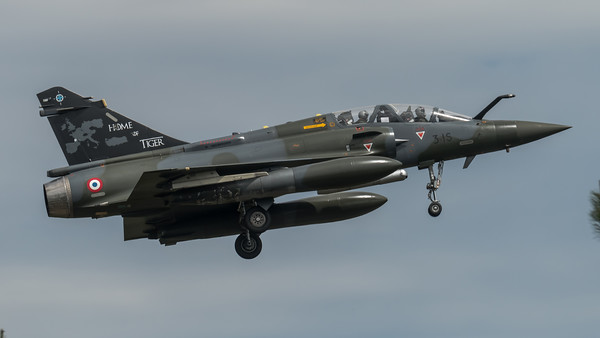 FAF ECE 1-30 / Dassault Mirage 2000D / 3-IS / Tigermeet 2019 Livery