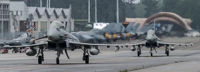 ItAF 36 Stormo / Eurofighter Typhoon F-2000(T) & F-2000A / MM55092 36-62 & MM7313 36-35