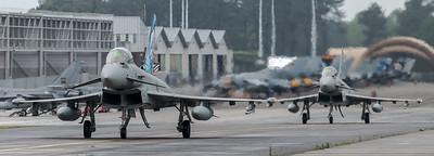 ItAF 36 Stormo / Eurofighter Typhoon F-2000A / MM7322 36-40 & MM7315 36-46 / Tigermeet Livery