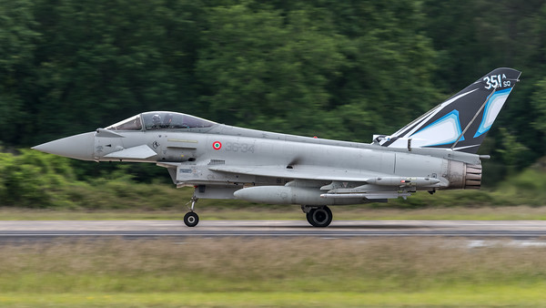 ItAF 36 Stormo / Eurofighter Typhoon F-2000A / MM7312 36-34 / Tigermeet Livery